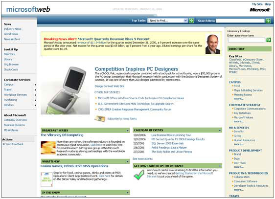 MSW Former Homepage