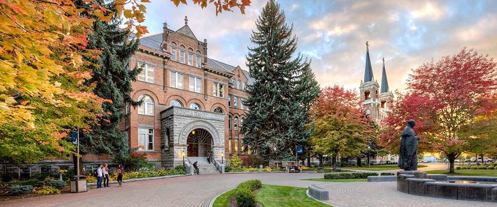 College Hall at Gonzaga University